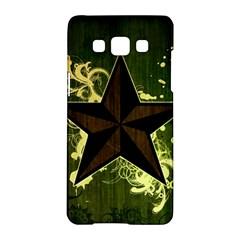 Star Dark Pattern  Samsung Galaxy A5 Hardshell Case  by amphoto