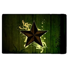 Star Dark Pattern  Apple Ipad Pro 9 7   Flip Case by amphoto