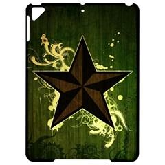 Star Dark Pattern  Apple Ipad Pro 9 7   Hardshell Case by amphoto