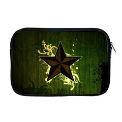 Star Dark Pattern  Apple Macbook Pro 17  Zipper Case by amphoto