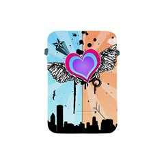 Couple Hugging Heart Apple Ipad Mini Protective Soft Cases by amphoto
