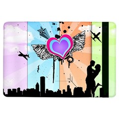Couple Hugging Heart Ipad Air Flip by amphoto