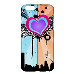 Couple Hugging Heart Apple Iphone 6 Plus/6s Plus Hardshell Case by amphoto
