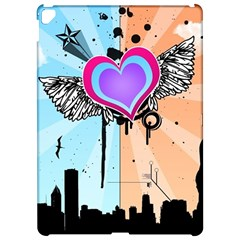 Couple Hugging Heart Apple Ipad Pro 12 9   Hardshell Case by amphoto