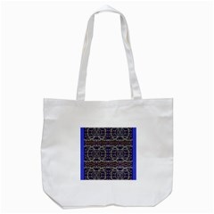 Sanskrit Link Time Space  Tote Bag (white) by MRTACPANS
