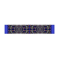 Sanskrit Link Time Space  Flano Scarf (mini) by MRTACPANS