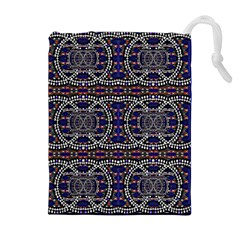 Sanskrit Link Time Space  Drawstring Pouches (extra Large) by MRTACPANS