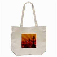 Wings Drawing Poles  Tote Bag (cream) by amphoto