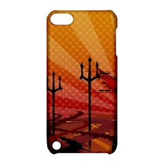 Wings Drawing Poles  Apple Ipod Touch 5 Hardshell Case With Stand by amphoto