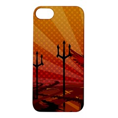 Wings Drawing Poles  Apple Iphone 5s/ Se Hardshell Case by amphoto
