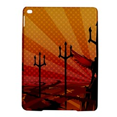 Wings Drawing Poles  Ipad Air 2 Hardshell Cases by amphoto