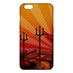 Wings Drawing Poles  Iphone 6 Plus/6s Plus Tpu Case by amphoto