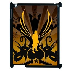 Soldiers Army Line  Apple Ipad 2 Case (black) by amphoto