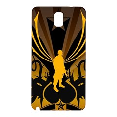 Soldiers Army Line  Samsung Galaxy Note 3 N9005 Hardshell Back Case by amphoto