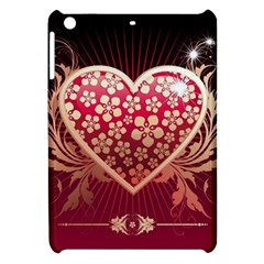 Heart Patterns Lines  Apple Ipad Mini Hardshell Case by amphoto