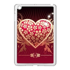 Heart Patterns Lines  Apple Ipad Mini Case (white) by amphoto
