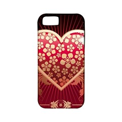 Heart Patterns Lines  Apple Iphone 5 Classic Hardshell Case (pc+silicone) by amphoto