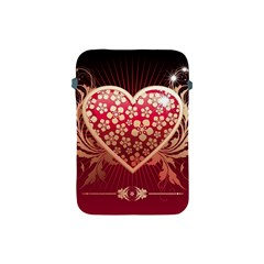 Heart Patterns Lines  Apple Ipad Mini Protective Soft Cases by amphoto