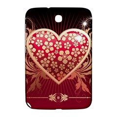Heart Patterns Lines  Samsung Galaxy Note 8 0 N5100 Hardshell Case  by amphoto
