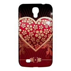 Heart Patterns Lines  Samsung Galaxy Mega 6 3  I9200 Hardshell Case by amphoto