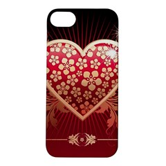 Heart Patterns Lines  Apple Iphone 5s/ Se Hardshell Case by amphoto