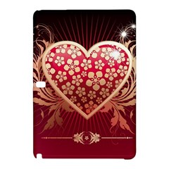 Heart Patterns Lines  Samsung Galaxy Tab Pro 10 1 Hardshell Case by amphoto
