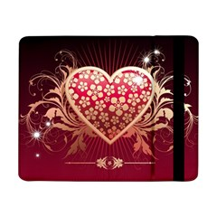 Heart Patterns Lines  Samsung Galaxy Tab Pro 8 4  Flip Case by amphoto