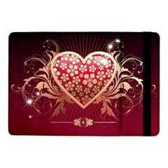 Heart Patterns Lines  Samsung Galaxy Tab Pro 10 1  Flip Case by amphoto