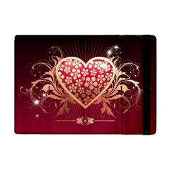 Heart Patterns Lines  Ipad Mini 2 Flip Cases by amphoto