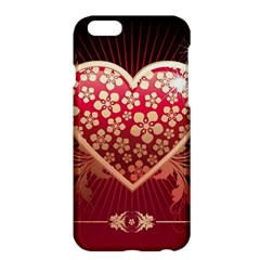 Heart Patterns Lines  Apple Iphone 6 Plus/6s Plus Hardshell Case by amphoto