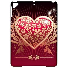 Heart Patterns Lines  Apple Ipad Pro 9 7   Hardshell Case by amphoto