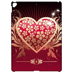 Heart Patterns Lines  Apple Ipad Pro 12 9   Hardshell Case by amphoto