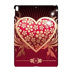 Heart Patterns Lines  Apple Ipad Pro 10 5   Hardshell Case by amphoto