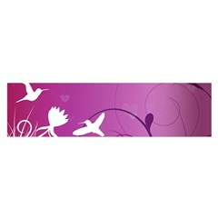 Bird Flight Patterns  Satin Scarf (oblong) by amphoto