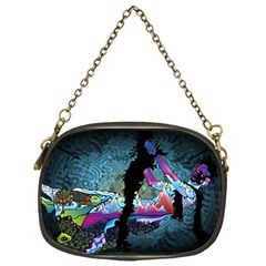 Girl Dress Fly  Chain Purses (one Side)  by amphoto