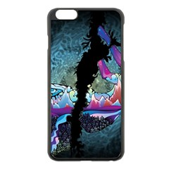 Girl Dress Fly  Apple Iphone 6 Plus/6s Plus Black Enamel Case by amphoto