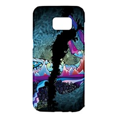 Girl Dress Fly  Samsung Galaxy S7 Edge Hardshell Case by amphoto