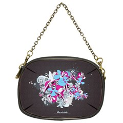 Skulls Ghosts Illustration  Chain Purses (one Side)  by amphoto