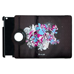 Skulls Ghosts Illustration  Apple Ipad 2 Flip 360 Case by amphoto