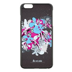 Skulls Ghosts Illustration  Apple Iphone 6 Plus/6s Plus Black Enamel Case by amphoto
