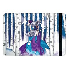 Girl Forest Trees Samsung Galaxy Tab Pro 10 1  Flip Case by amphoto