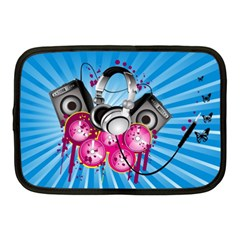 Speakers Headphones Colorful  Netbook Case (medium)  by amphoto
