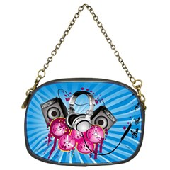 Speakers Headphones Colorful  Chain Purses (one Side)  by amphoto