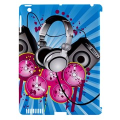 Speakers Headphones Colorful  Apple Ipad 3/4 Hardshell Case (compatible With Smart Cover) by amphoto