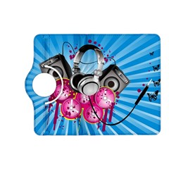 Speakers Headphones Colorful  Kindle Fire Hd (2013) Flip 360 Case by amphoto