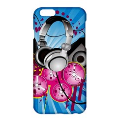 Speakers Headphones Colorful  Apple Iphone 6 Plus/6s Plus Hardshell Case by amphoto