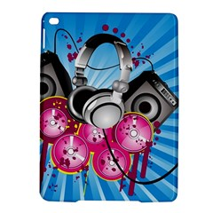 Speakers Headphones Colorful  Ipad Air 2 Hardshell Cases by amphoto