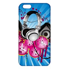 Speakers Headphones Colorful  Iphone 6 Plus/6s Plus Tpu Case by amphoto