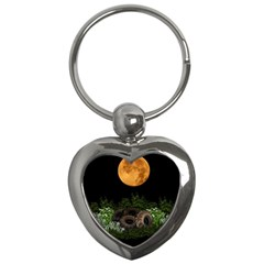 Ecology  Key Chains (heart)  by Valentinaart