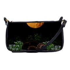 Ecology  Shoulder Clutch Bags by Valentinaart